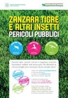 """Rischio zanzare, al via la campagna informativa della Regione """"Zanzara tigre e altri insetti: pericoli pubblici"""""""